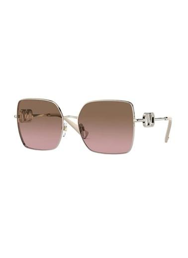 Valentino Valentino 0Va2041 300314 59 Ekartman Kadın Güneş Gözlüğü Altın